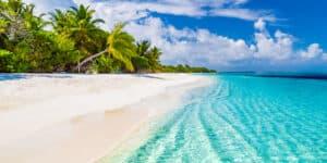 Paradisferie på Maldiverne