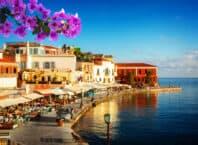 Havnepromenade på Kreta