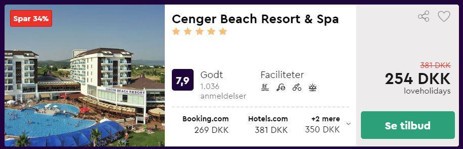Cenger Beach Resort & Spa - Antalya i Tyrkiet