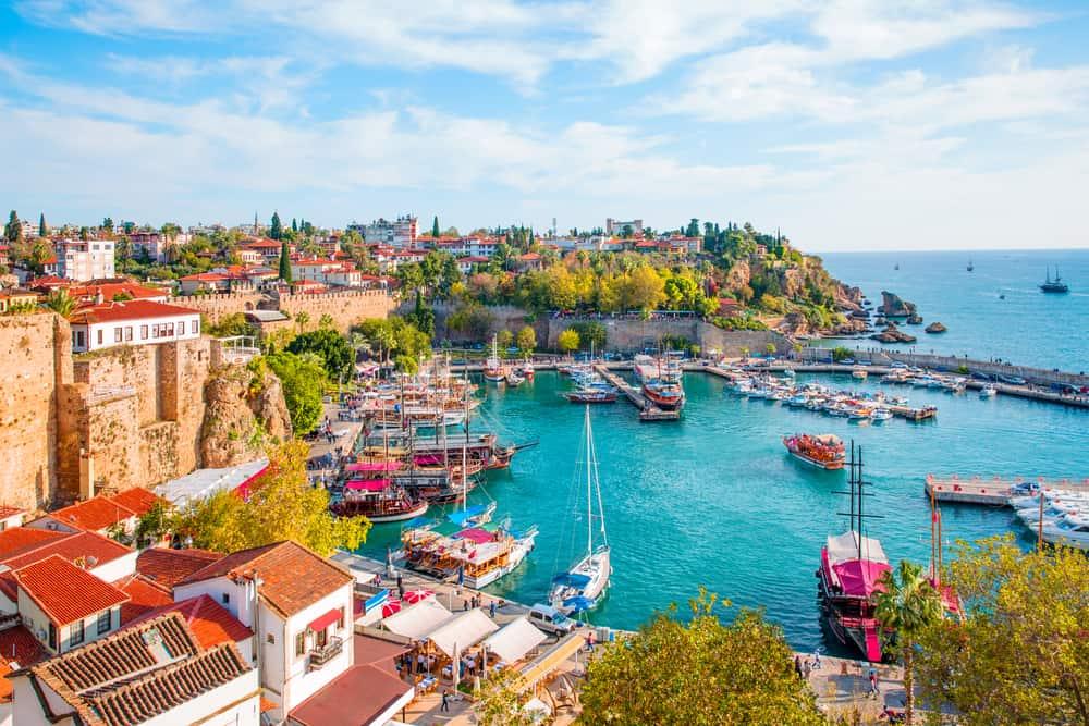 Den gamle bydel i Antalya - Tyrkiet