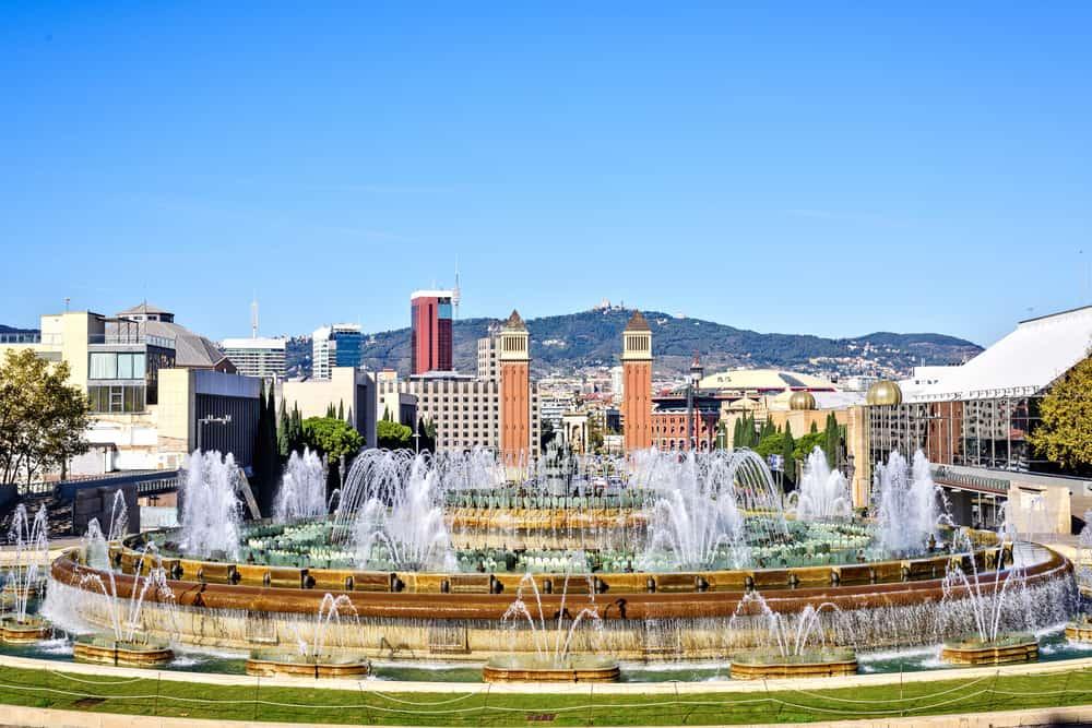 Det Magiske Springvand i Barcelona
