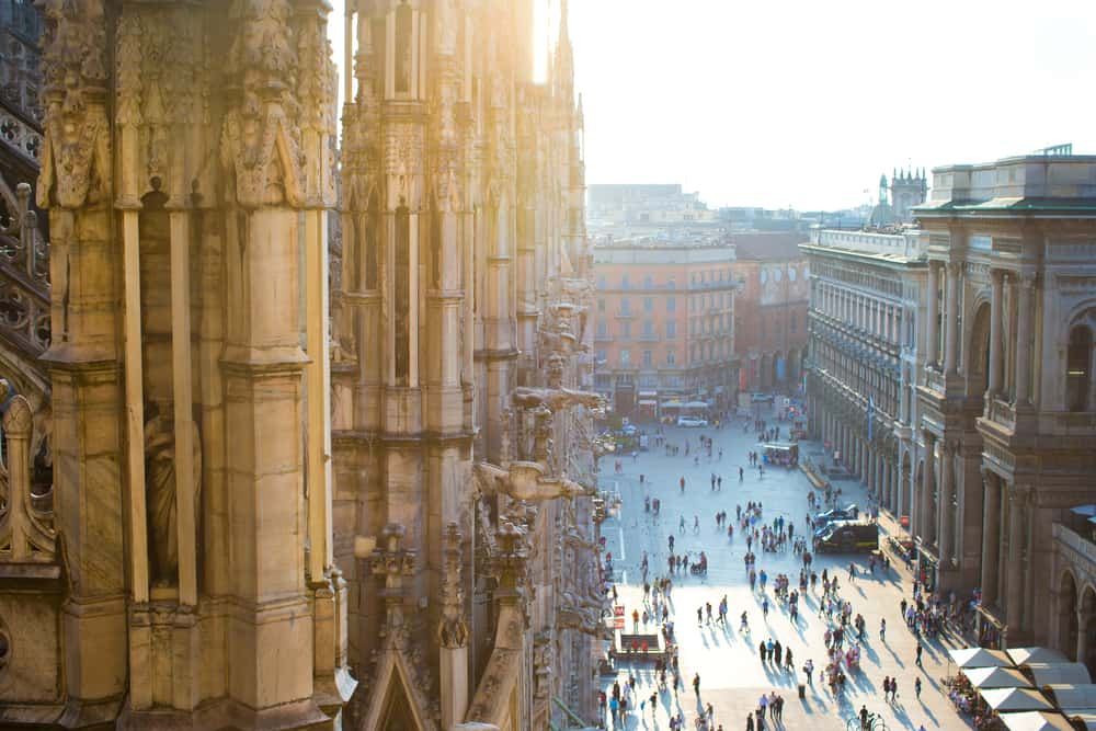 Duomo katedralen i Milano - Italien