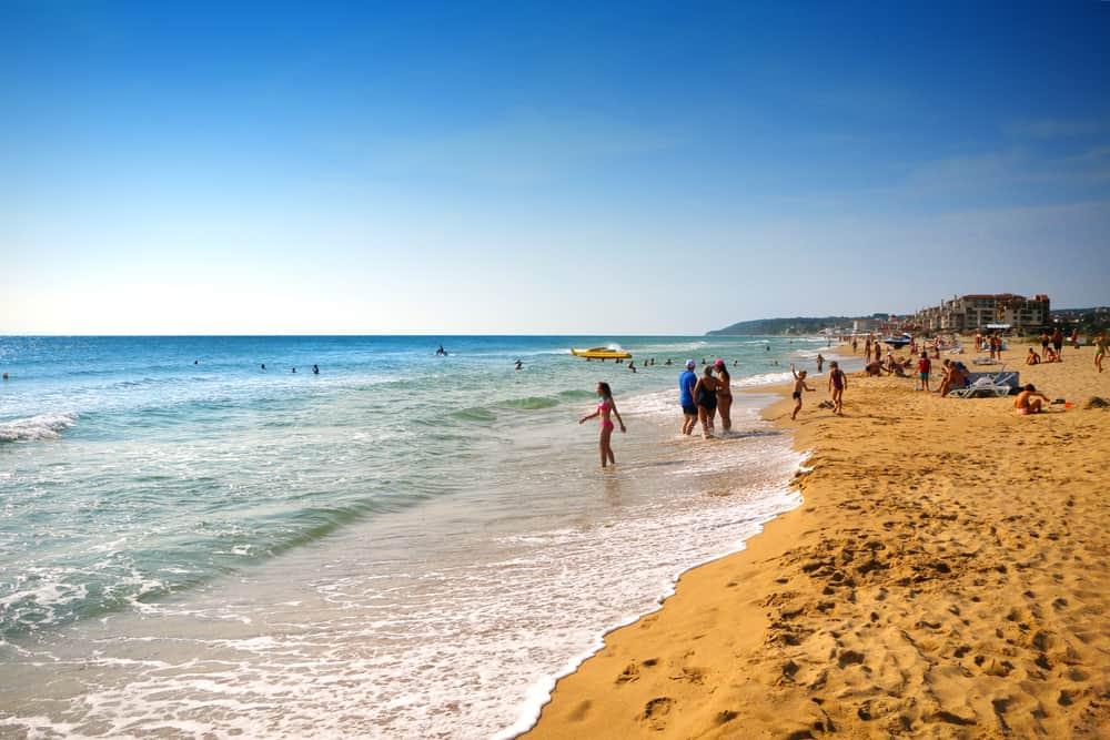 Golden Sands i Bulgarien