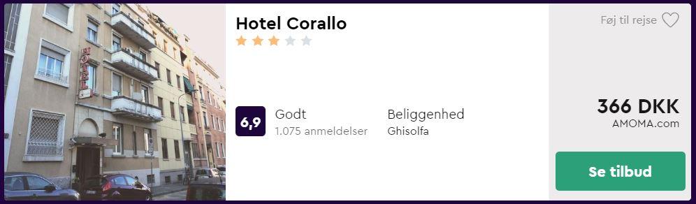 Hotel Corallo i Milano