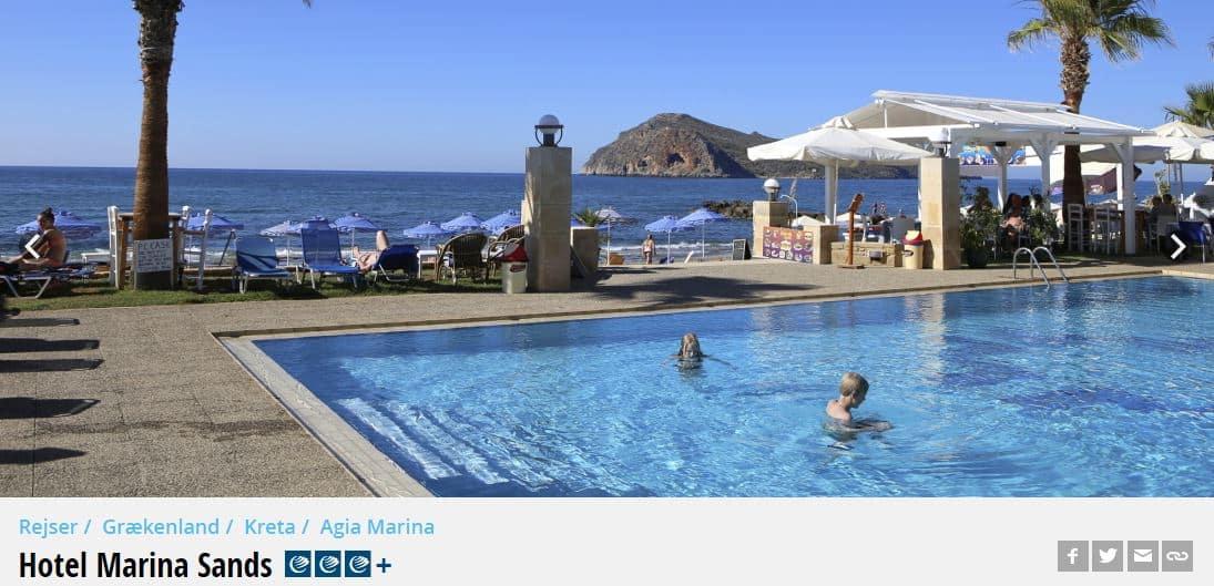 Hotel Marina Sands - Kreta