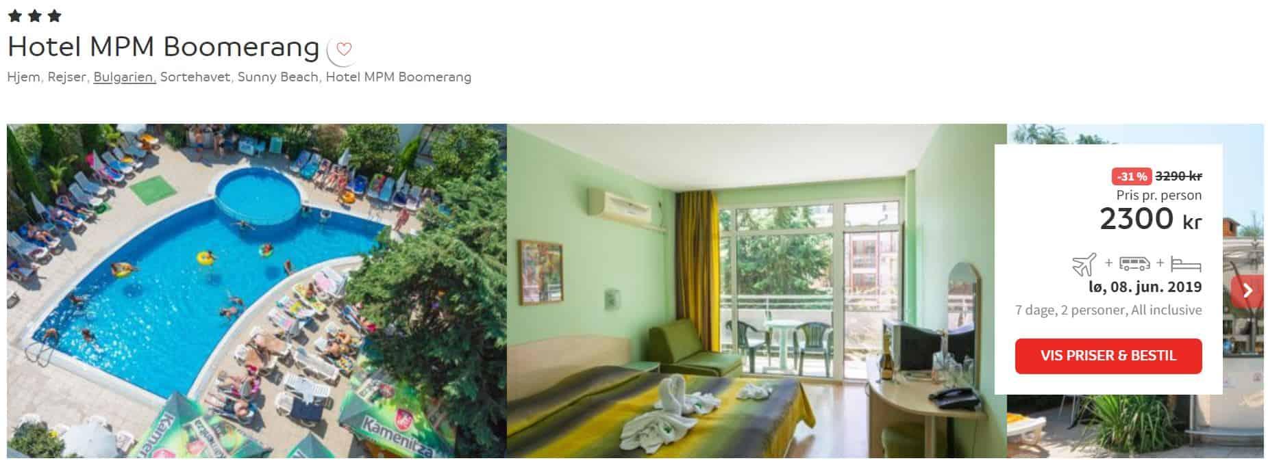 Hotel MPM Boomerang