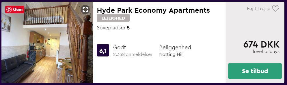 Hyde Park Economy Apartments - London