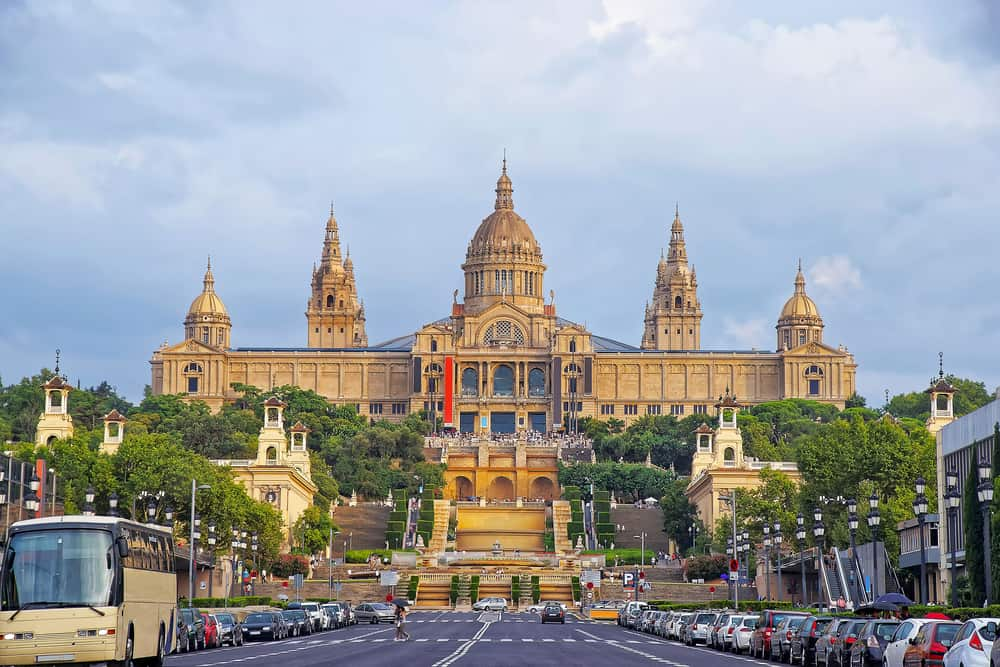 Montjuïc - Barcelona i Spanien