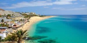 Playa del Matorral - Fuerteventura i Spanien