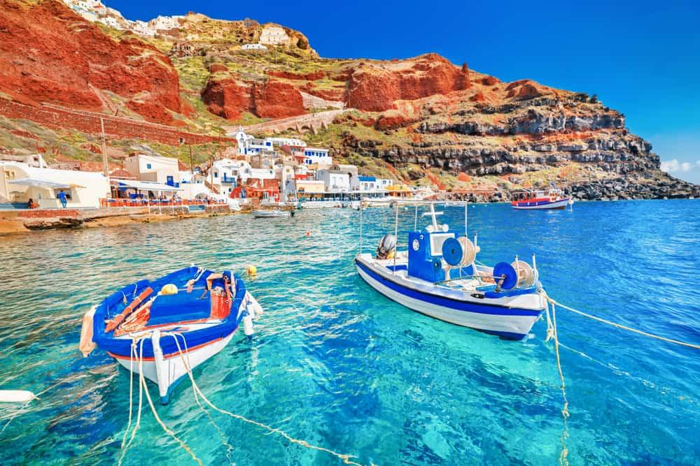 Santorini i Grækenland