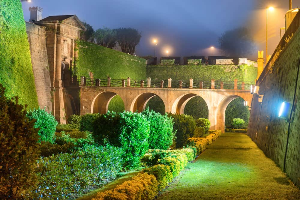 Slottet på Montjuïc