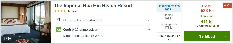 The Imperial Hua Hin Beach Resort