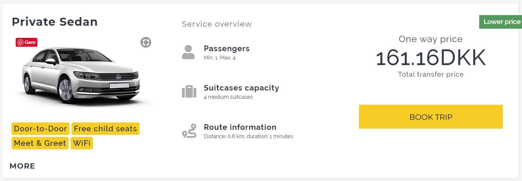 Transfer fra Santorini lufthavn