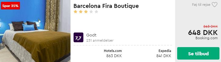 Barcelona Fira Boutique