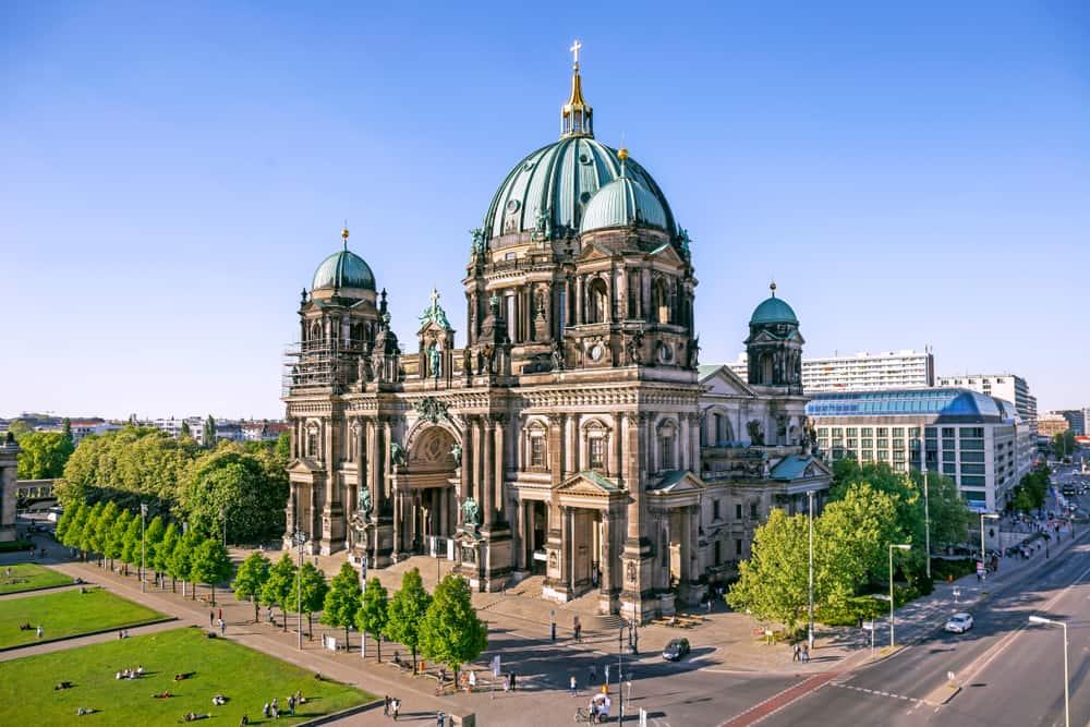 Berliner Dom i Berlin - Tyskland