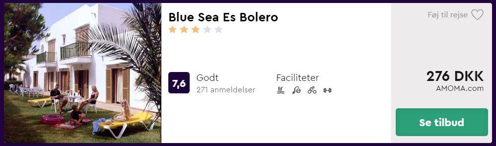 Blue Sea Es Bolero - Mallorca i Spanien