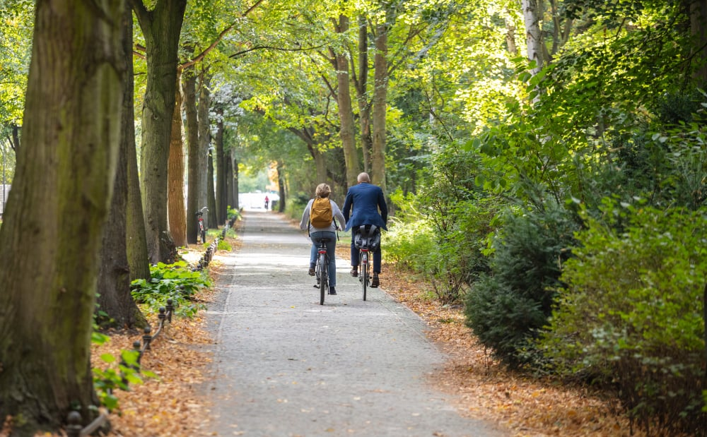 Efterår i Tiergarten - Berlin