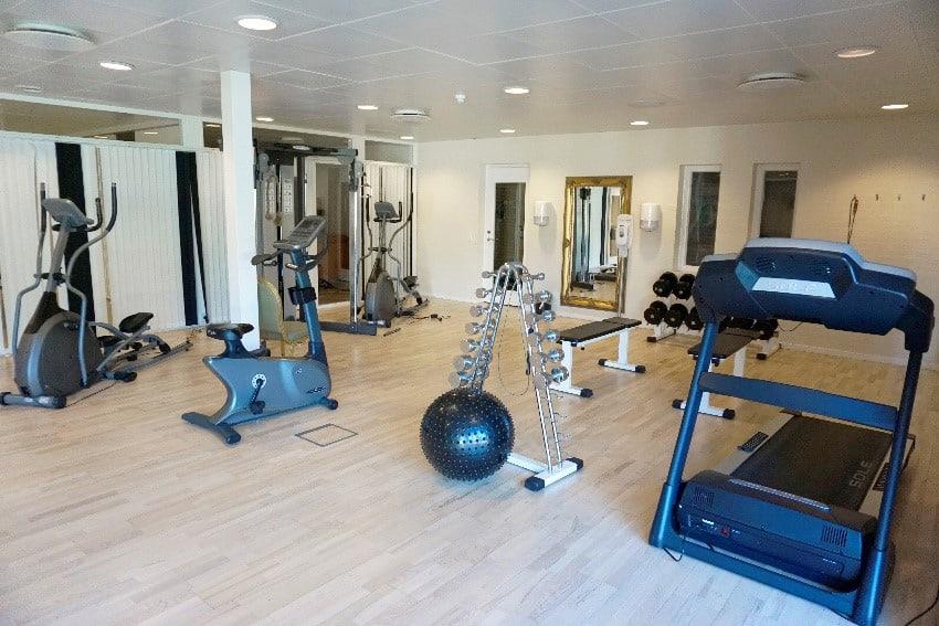 Fitness på Hotel Marina