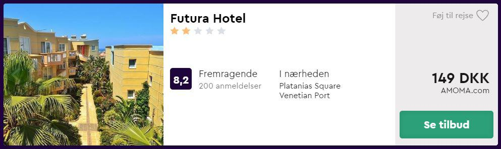 Futura Hotel - Kreta i Grækenland