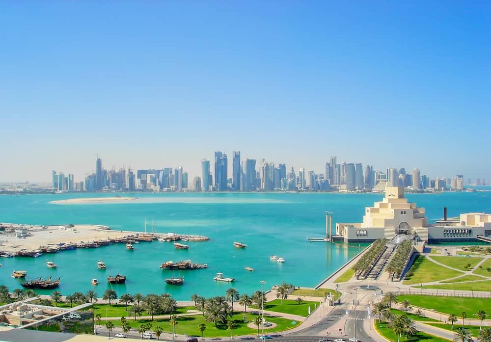 Havudsigt - Doha i Qatar
