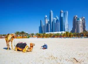 Jumeirah strand i Dubai