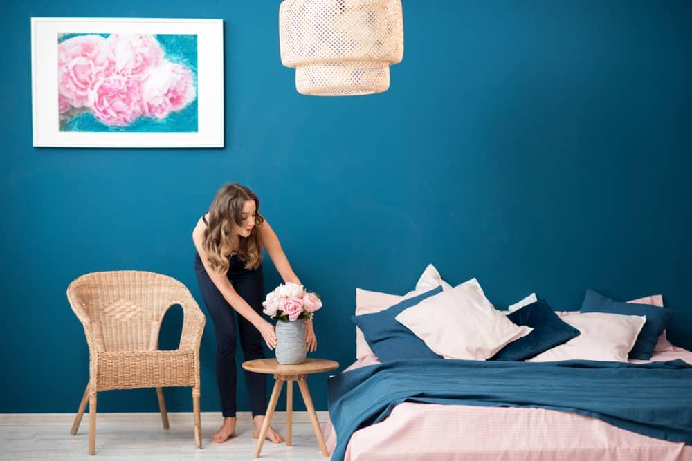 Minimalisme i soveværelset