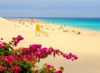 Fuerteventura i Spanien