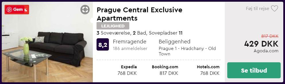 Prague Central Exclusive Apartments - Prag i Tjekkiet