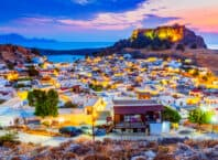 Rhodos by i Grækenland