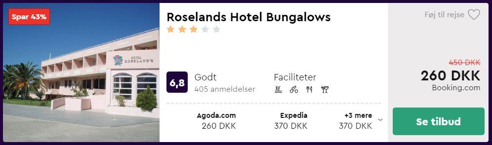 Roselands Hotel Bungalows - Kos i Grækenland