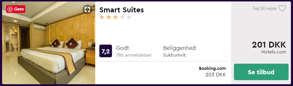 Smart Suites - Bangkok i Thailand