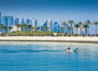 Vandpark i Doha - Qatar