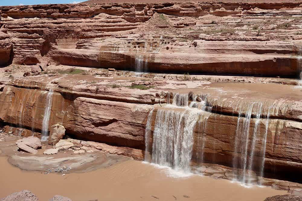Grand Falls i Navajo reservatet