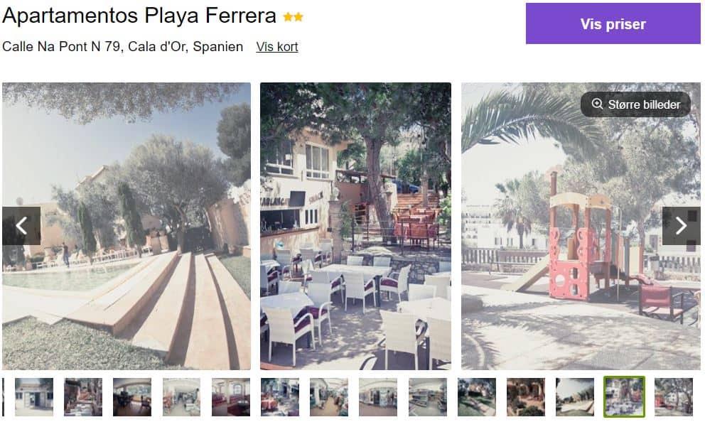 Apartamentos Playa Ferrera - Mallorca i Spanien