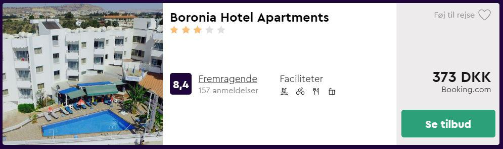 Boronia Hotel Apartments - Cypern