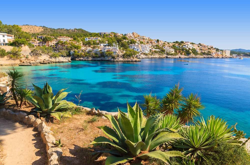 Cala Fornells - Mallorca i Spanien