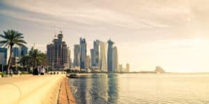 Doha i Qatar - Mellemøsten