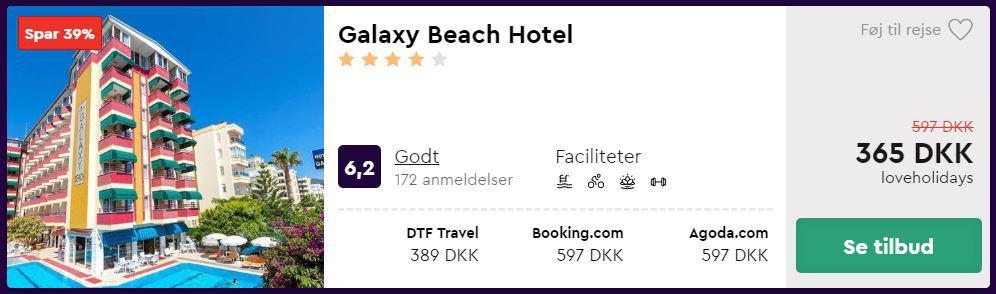 Galaxy Beach Hotel - Alanya i Tyrkiet