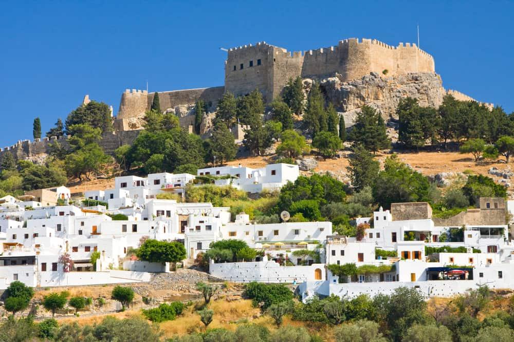 Lindos på Rhodos - Grækenland