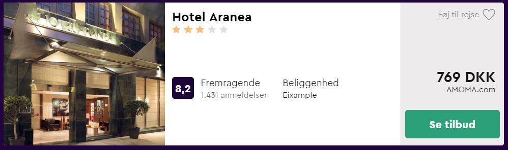 Hotel Aranea - Barcelona i Spanien