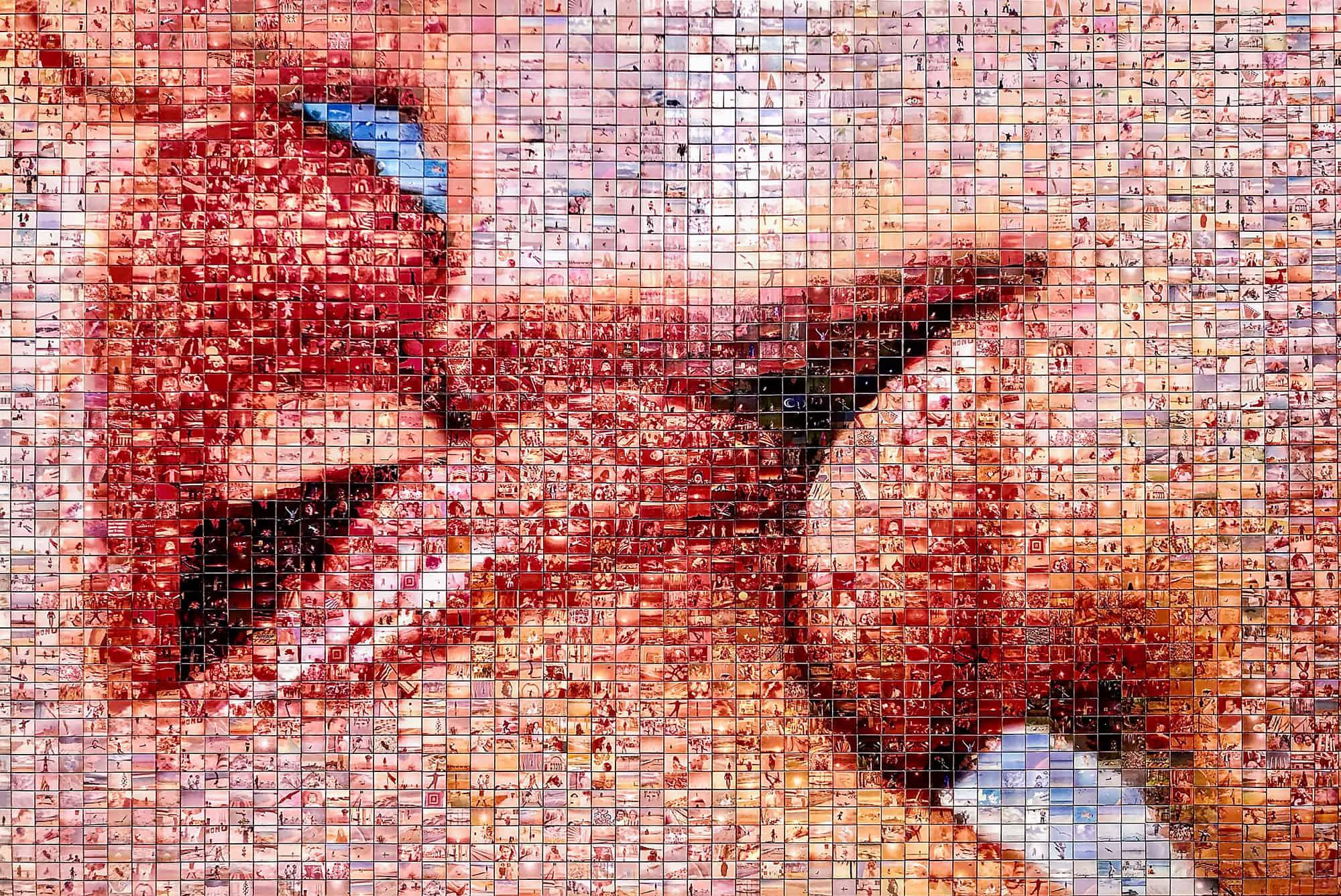 Gadekunst i Barcelona - Kiss of Freedom