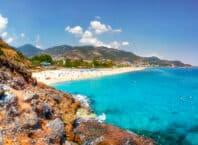 Kystlinje - Alanya i Tyrkiet
