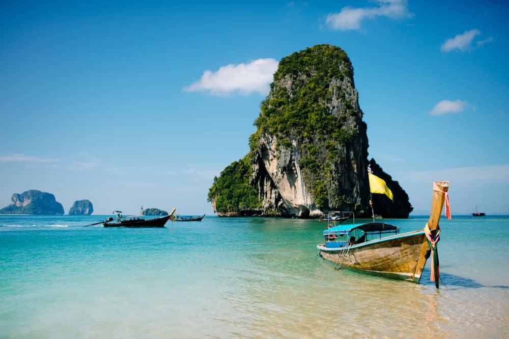 Langbåd i Krabi - Thailand