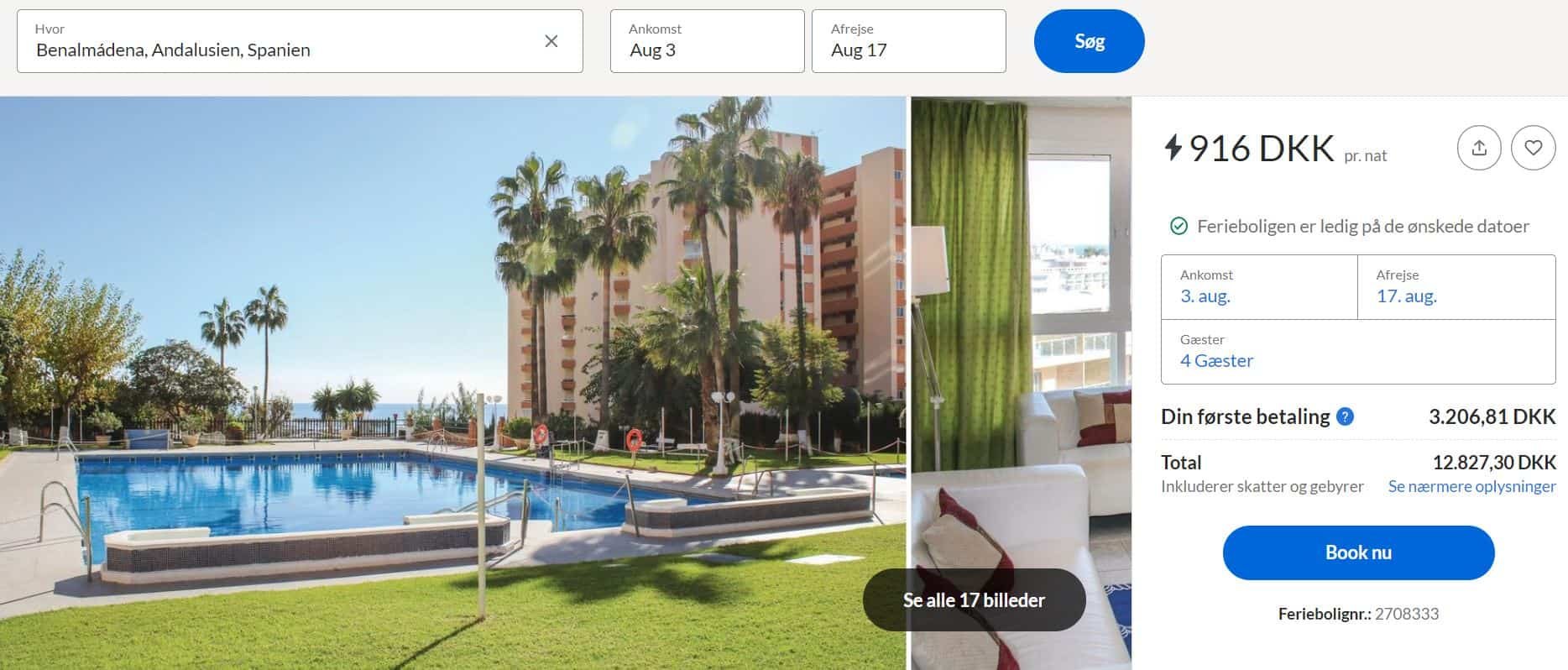 Lejlighed i Malaga - Spanien