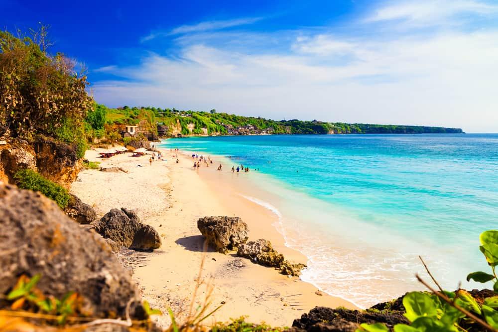 Pantai Dreamland Stranden - Kuta/Bali i Indonesien