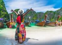 Phi Phi øen - Krabi i Thailand