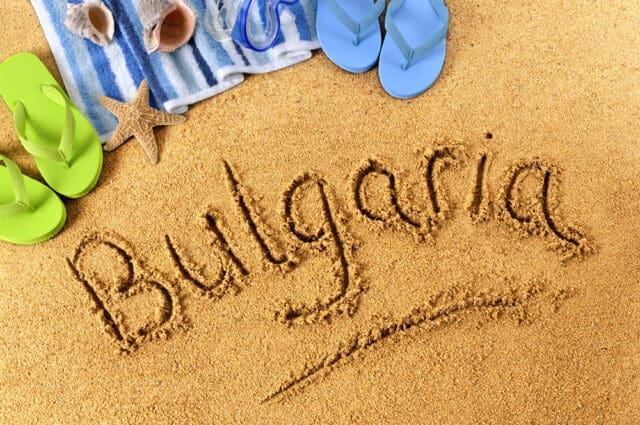 Sommer i Sunny Beach - Bulgarien