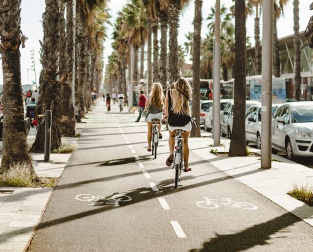 Sommerferie i Barcelona i Spanien