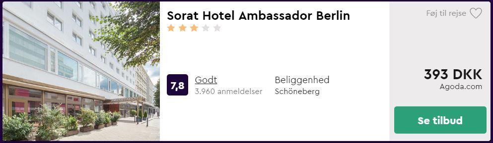 Sorat Hotel Ambassador - Berlin i Tyskland