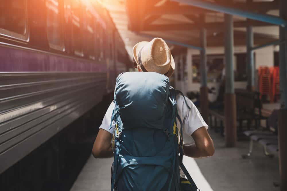 Backpacker rejsen